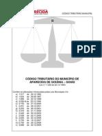 Código Tributário Municipal (atualizado)
