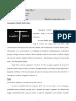 Proposte Scuole 2011-2012 Teatro Cinico