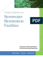 Wisconsin; Design Guidelines for Stormwater Bioretention Facilities - University of Wisconsin