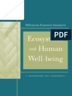 Ecosystems Human Wellbeing