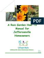 Indiana; A Rain Garden How-To Manual for Jeffersonville Homeowners - City of Jeffersonville