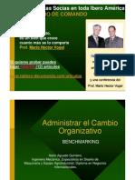 Bench Marking - Administrar El Cambio Organizativo