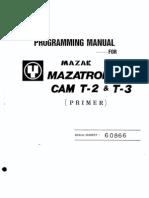 Mazatrol M2 Operator Manual | Cartesian Coordinate System | Machining