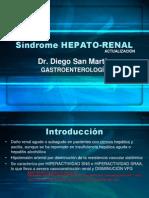 síndrome hepato-renal. Dr San Martín 2010