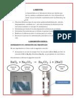 laboratorio de quimica n°2 trabajo