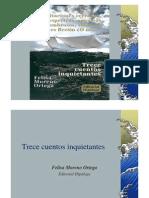 Trece cuentos inquietantes - Felisa Moreno Ortega - Editorial Hipálage