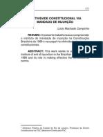 Efetividade Constitucional via Mandado de Injunção - Lúcio Machado Campinho