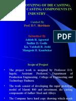 Rapid Prototyping of die Casting .. Presentation
