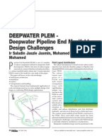 subsea pipeline thesis A submarine pipeline (also known as marine, subsea or offshore pipeline) is a pipeline that is laid on the seabed or below it inside a trench in some cases, the.