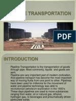 Pipeline Transportation Report