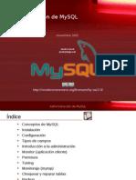 Administración-MySQL