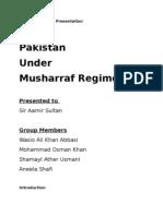 Pakistan Under Musharraf Regime