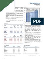Derivatives Report 25th November 2011