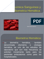 Química Sanguínea y Biometría Hemática