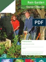 New Zealand; Rain Garden Owner's Manual - North Shore City Council