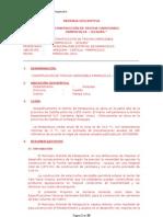 CONSTRUCCIÓN DE TROCHA