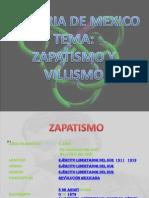 Presentación1 historia zapatismo y villismo