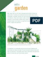 New Zealand; How to Build a Raingarden - Auckland Regional Council