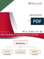Best Practices in CD