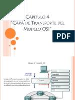 Presentacion de La Capa de Transporte Del Modelo Osi