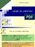 Prezentacija odseka Logistika