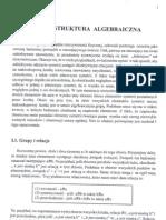 Teoria Grup - Grupa i Jej Struktura Algebraiczna