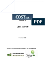 New Zealand; Corrective Maintenance Costs for Green Infrastructure