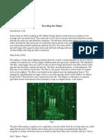 Unit 2 Essay - Decoding the Matrix