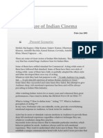 Analysis of Indian Cinema
