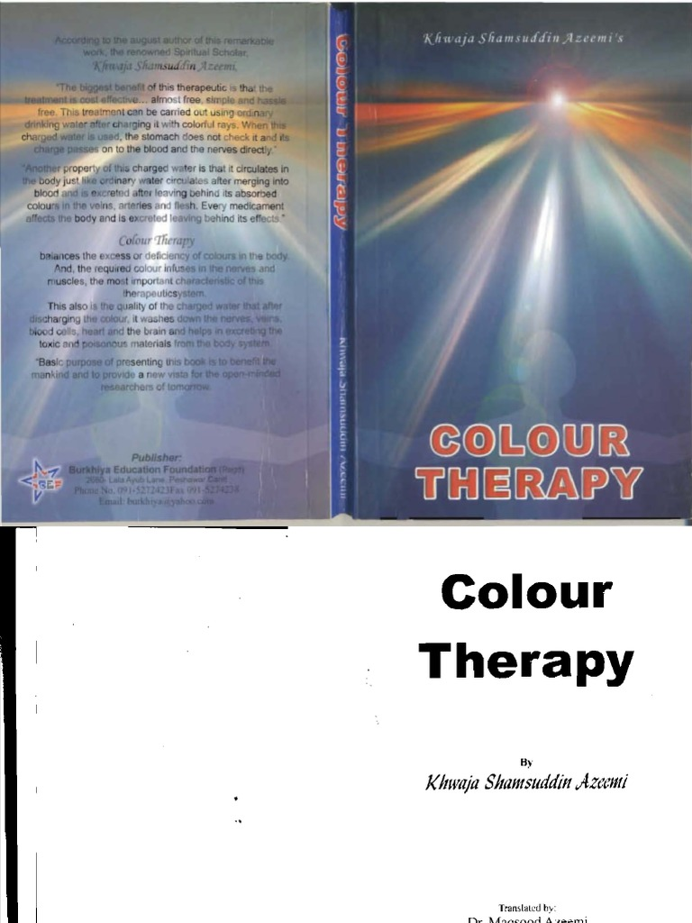 Colour therapy for stomach - Color Therapy English Complete Electromagnetic Spectrum Ultraviolet