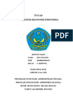 Makalah Sistem Ekonomi Indonesia