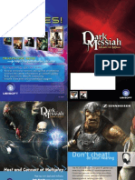 Dark Messiah Game Manual