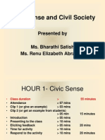 Civic Sense and Civic Society Ppt(3)