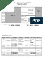 Jadwal Kegiatan Blok Xxi-2011-2012