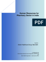 Human Resources Human Resources for Pharmacy Sector