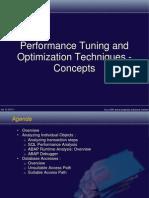 Tuning Optimization Concepts