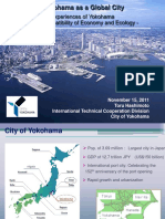 Yokohama as a Global City - The Compatibility of Economy and Ecology
