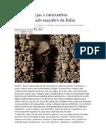 Macabro e terror na Itália