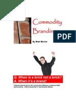 Commodity Branding