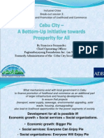 Cebu City – A bottoms-up initiative towards prosperity for all