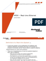 AFDX - Real-Time Ethernet