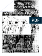 Analytical Mechanics_solutions Manual