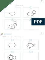 Dibuixa Seguint Els Passos Animals