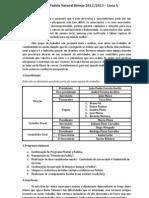 Eleições Padela Natural Biénio 2012