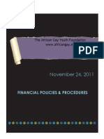 Our Financial Policies & Procedures