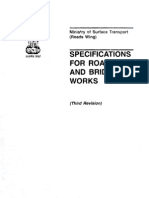 MOST Specifications for Road & Bridges