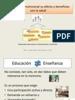 1La Educacion Nutricional Su Efecto y Beneficios Con
