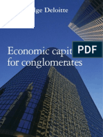Economic Capital for Conglomerates