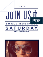Shop #SmallBusinessSaturday with #LCH and WIN! sponsored by American Express