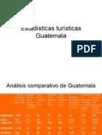 Estadísticas Turísticas Guatemala